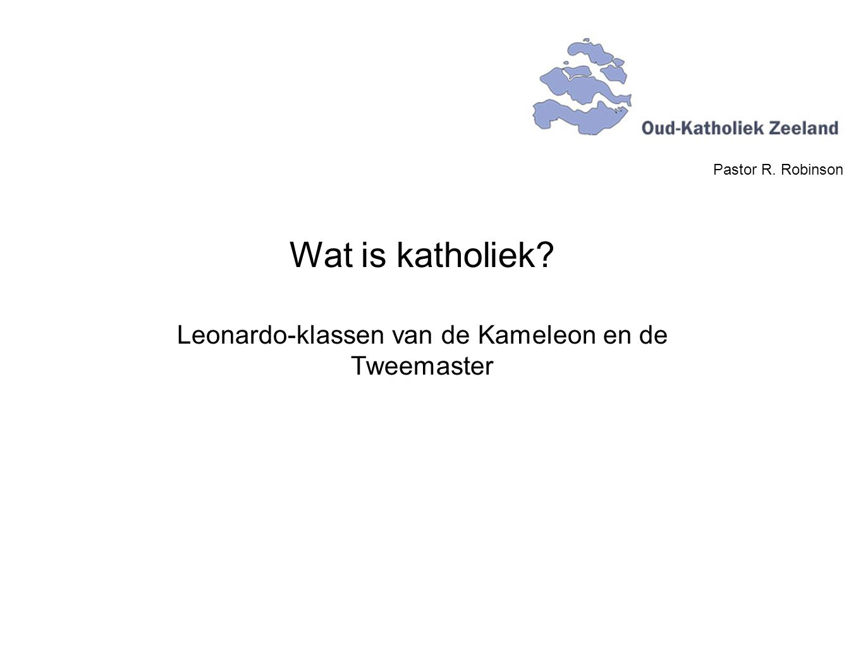 Leonardo-klassen van de Kameleon en de Tweemaster
