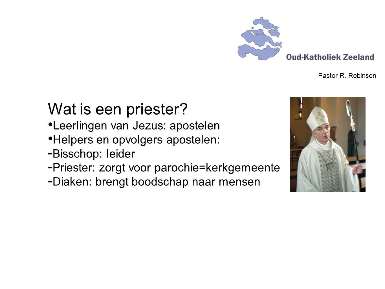Wat is een priester Leerlingen van Jezus: apostelen
