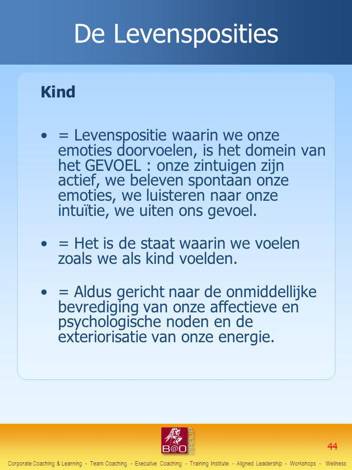 De Levensposities Kind