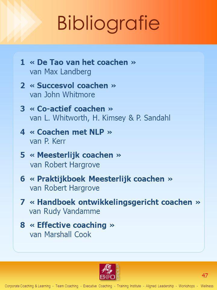 Bibliografie van Robert Hargrove 1 « De Tao van het coachen »