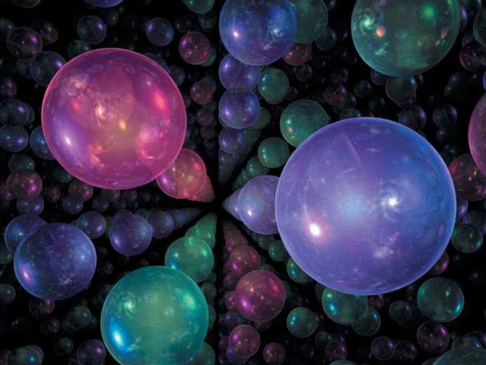 Universum van het universum Ruimte. Spelen met het gevoel van ruimte.