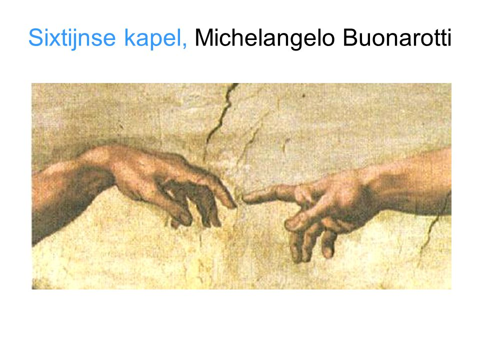 Sixtijnse kapel, Michelangelo Buonarotti