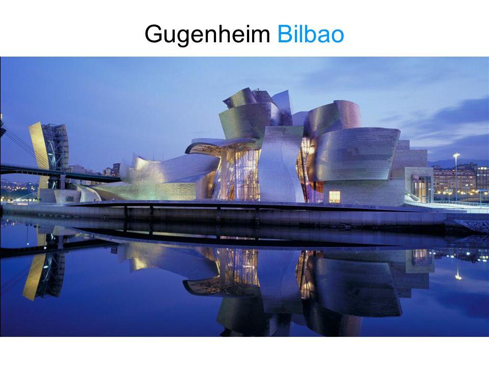 Gugenheim Bilbao Indrukwekkende, meeslepende gebouwen van nu