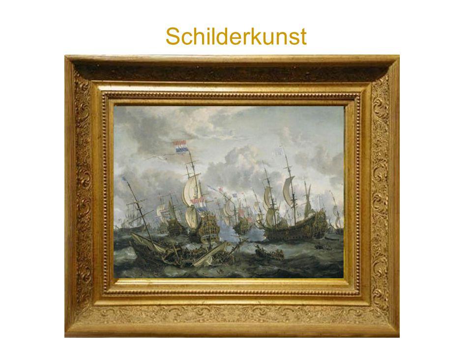 Schilderkunst Verslaggeven alsof je erbij bent van een zeeslag