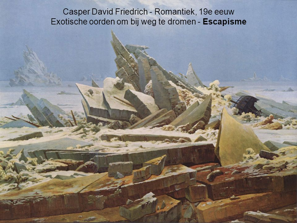 Casper David Friedrich - Romantiek, 19e eeuw