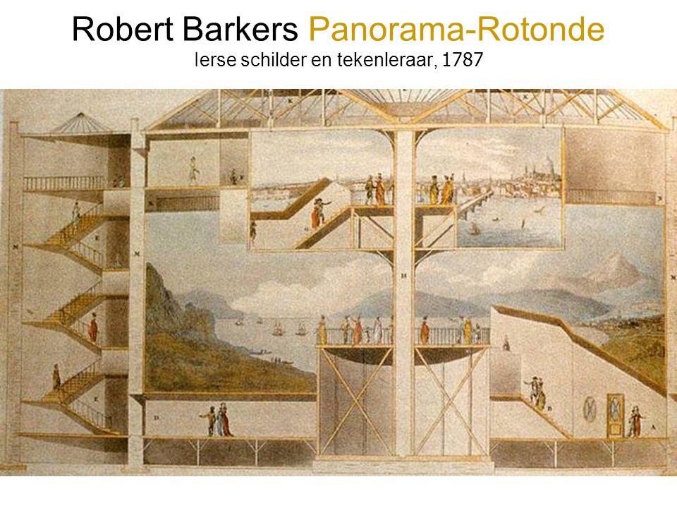 Robert Barkers Panorama-Rotonde Ierse schilder en tekenleraar, 1787