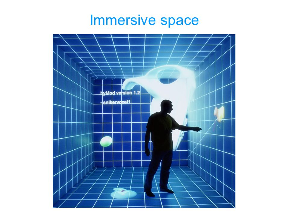 Immersive space En hollowdeck