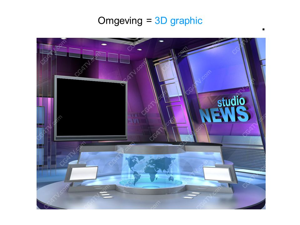Omgeving = 3D graphic . nepdecors