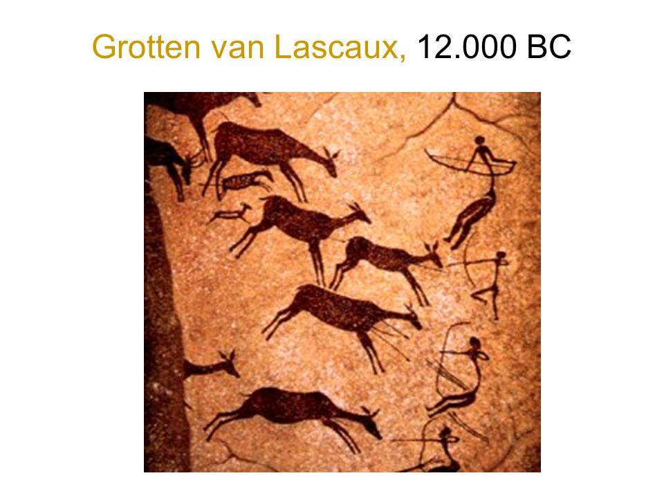 Grotten van Lascaux, 12.000 BC