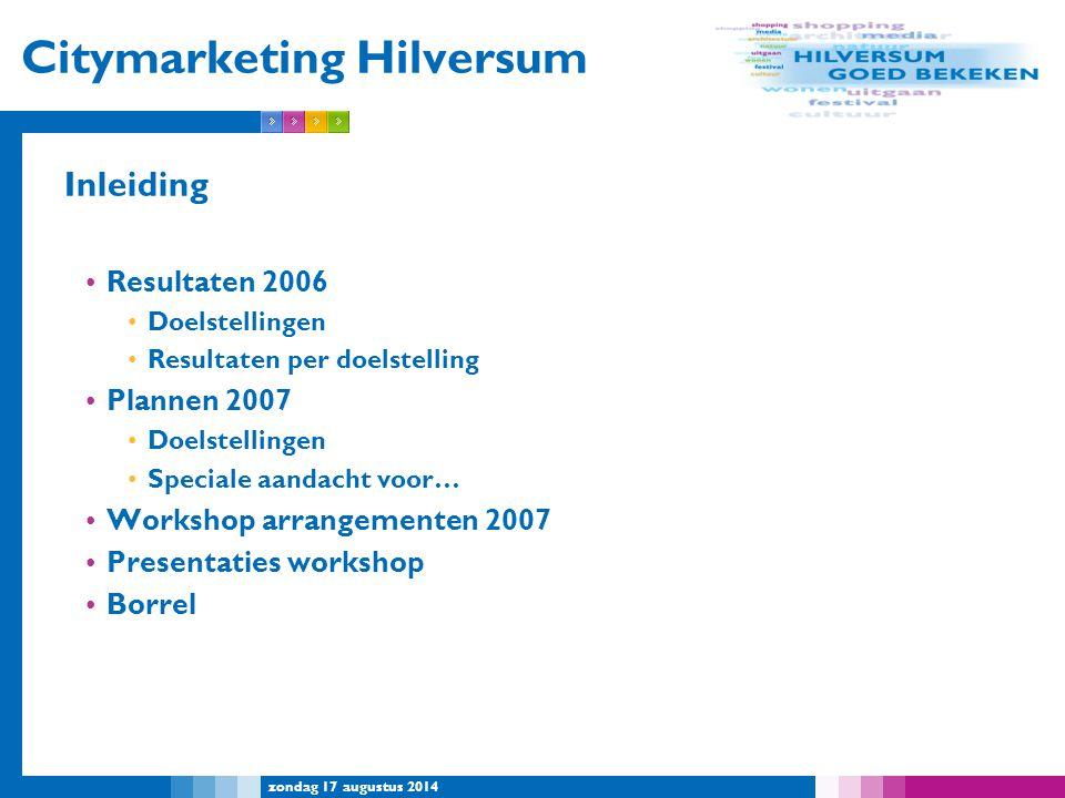 Citymarketing Hilversum