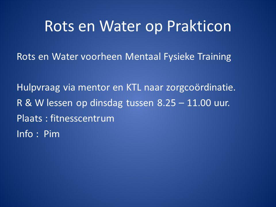 Rots en Water op Prakticon