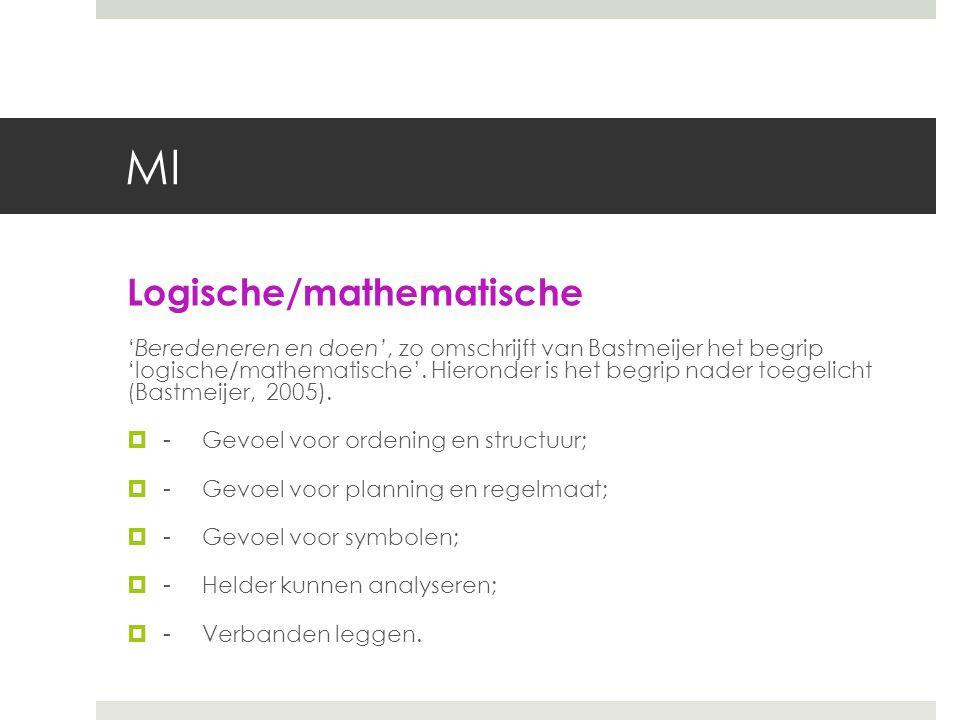 MI Logische/mathematische