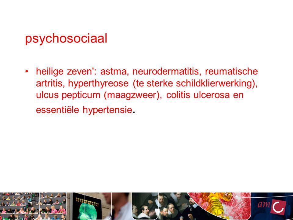 psychosociaal