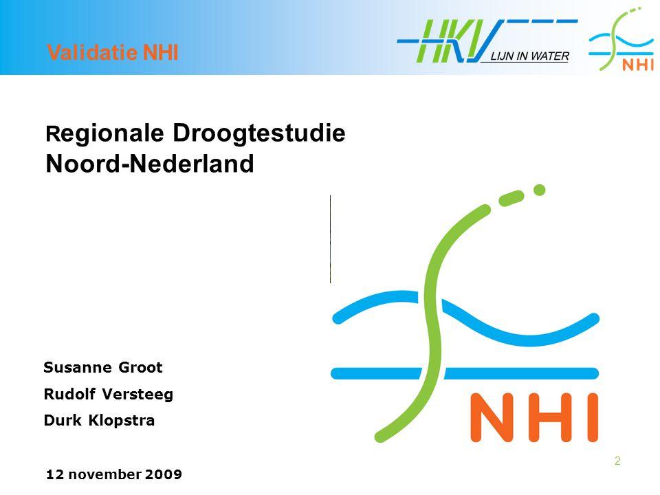 Regionale Droogtestudie Noord-Nederland