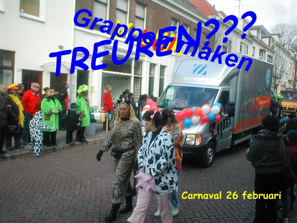 Vrolijk Grappen maken Lol TREUREN Carnaval 26 februari