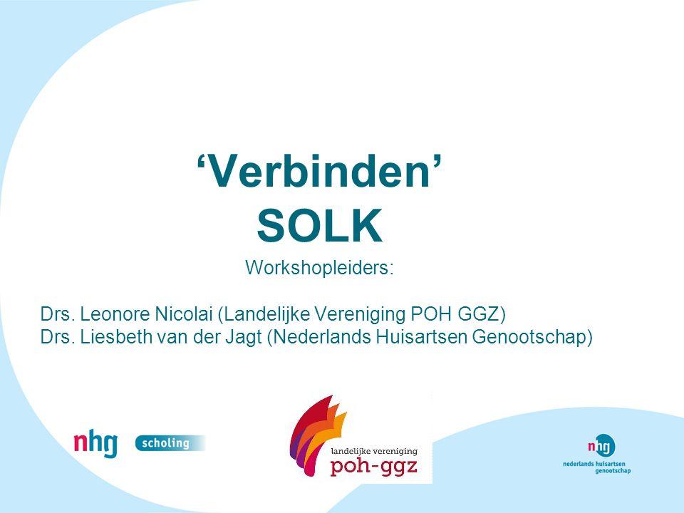 'Verbinden' SOLK Workshopleiders: