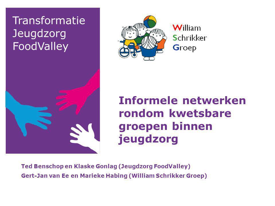 Informele netwerken rondom kwetsbare groepen binnen jeugdzorg