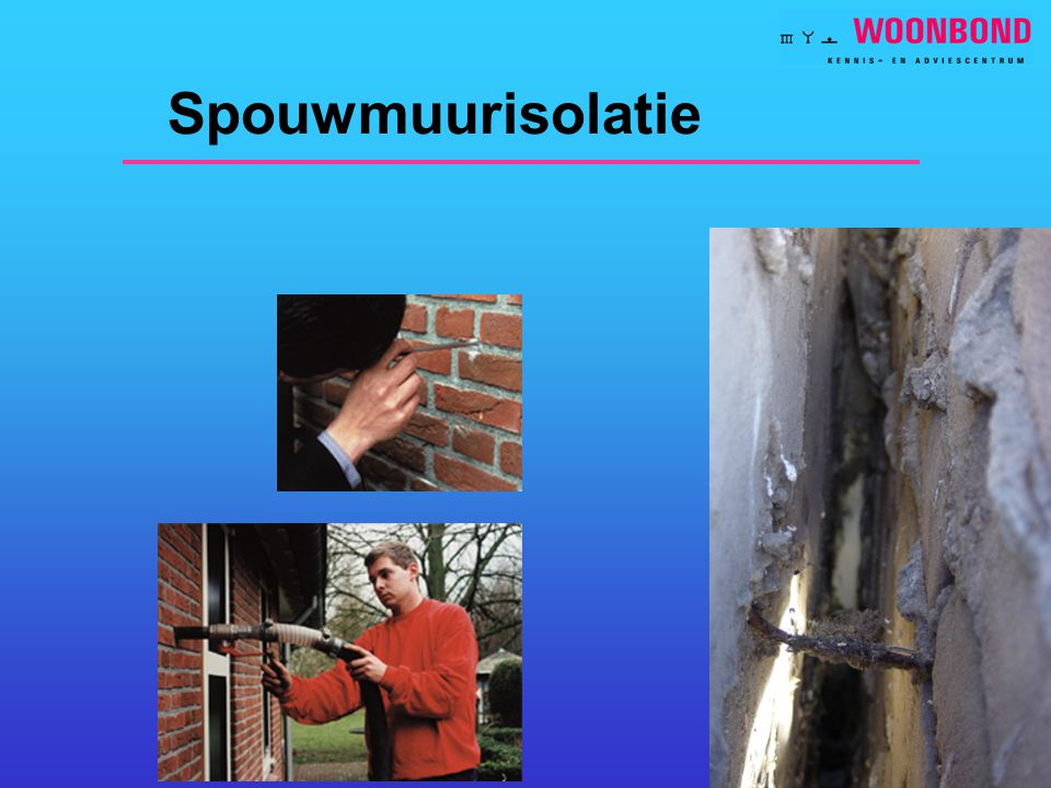 Spouwmuurisolatie