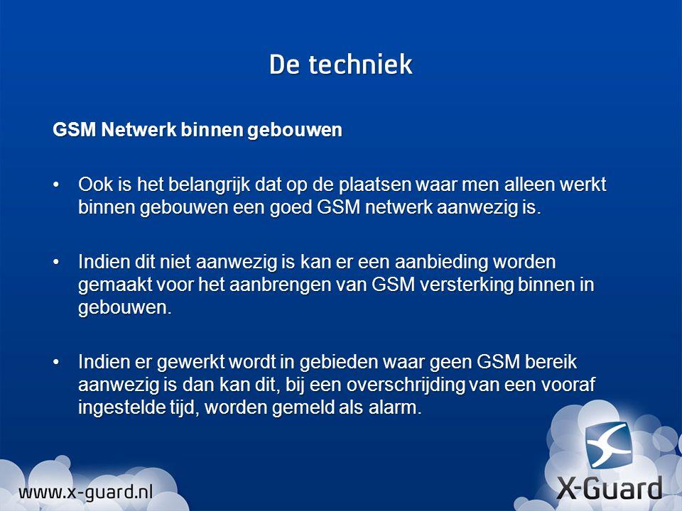 De techniek GSM Netwerk binnen gebouwen