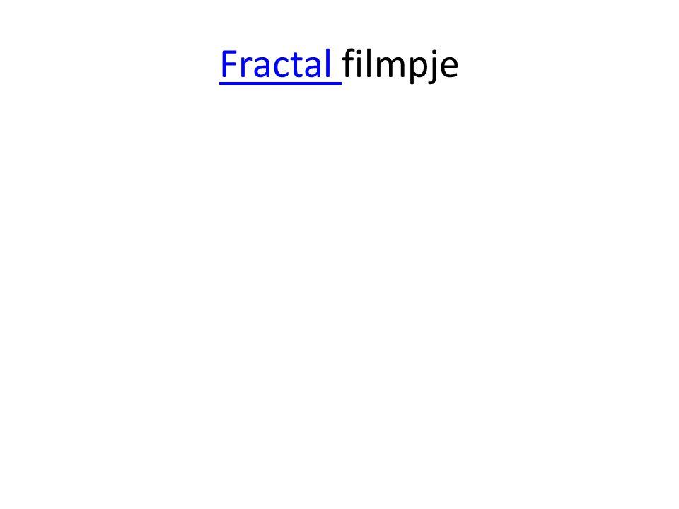 Fractal filmpje