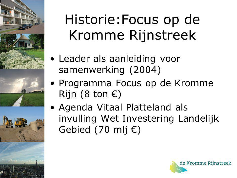 Historie:Focus op de Kromme Rijnstreek