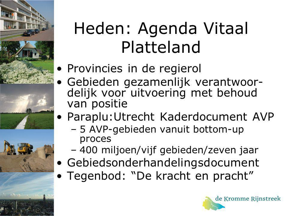 Heden: Agenda Vitaal Platteland