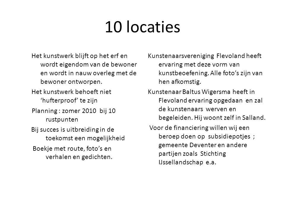 10 locaties