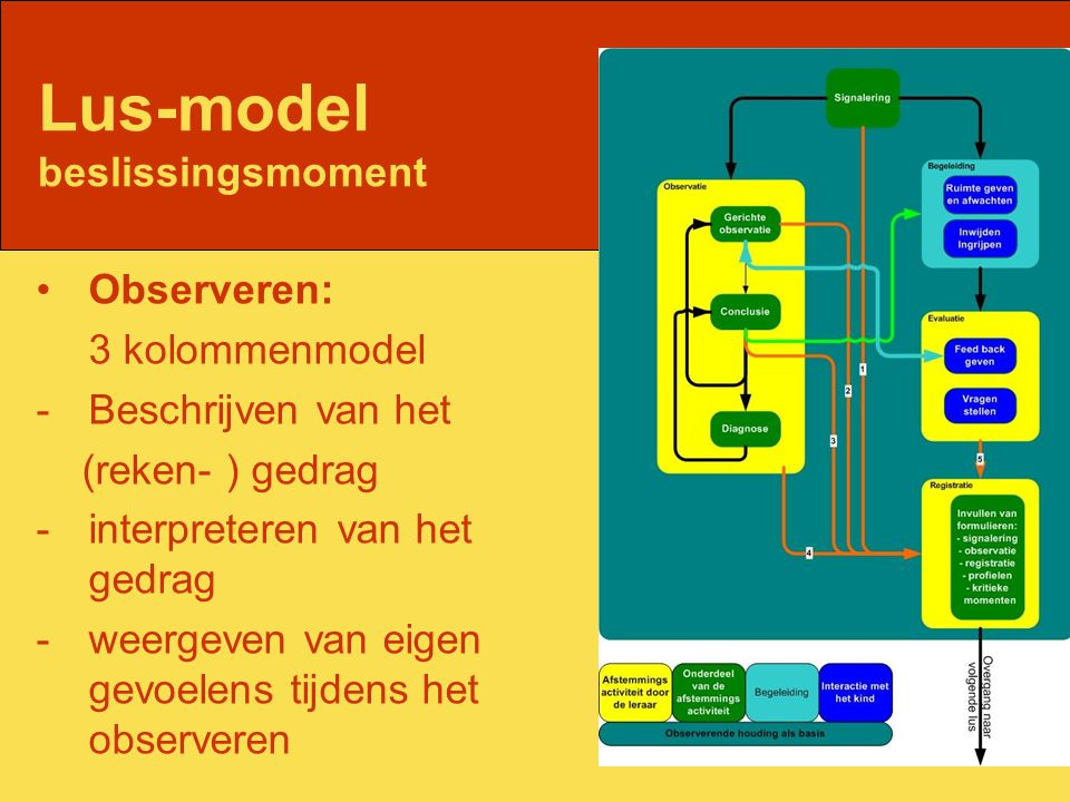 Lus-model beslissingsmoment