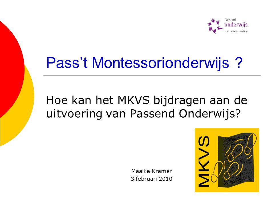Pass't Montessorionderwijs