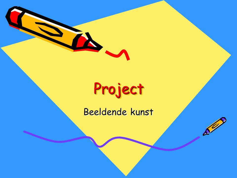 Project Beeldende kunst