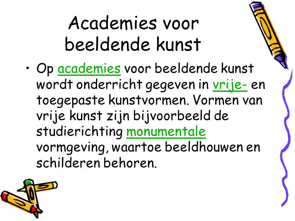 Academies voor beeldende kunst