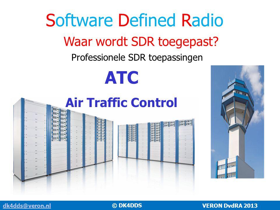 Waar wordt SDR toegepast