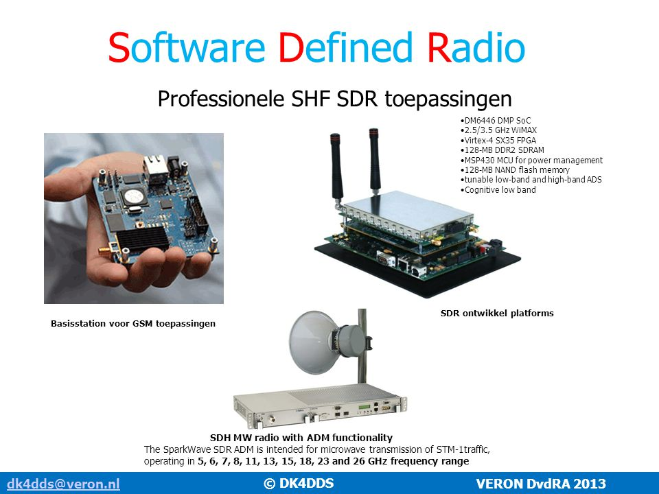 SDR ontwikkel platforms