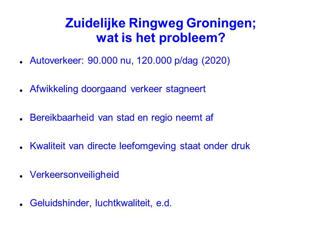 Zuidelijke Ringweg Groningen; wat is het probleem