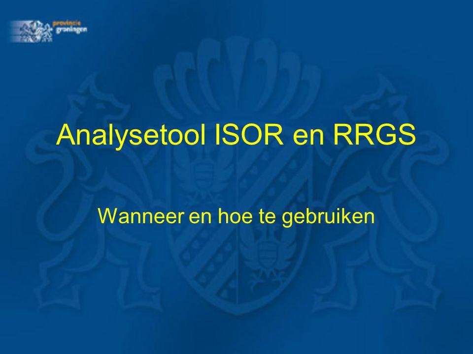 Analysetool ISOR en RRGS