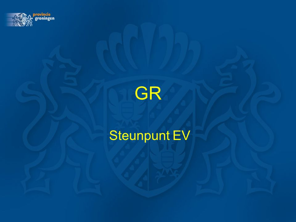 GR Steunpunt EV
