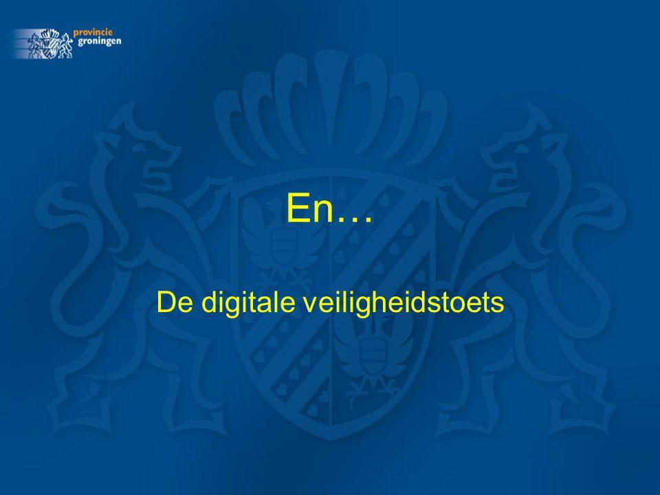 De digitale veiligheidstoets