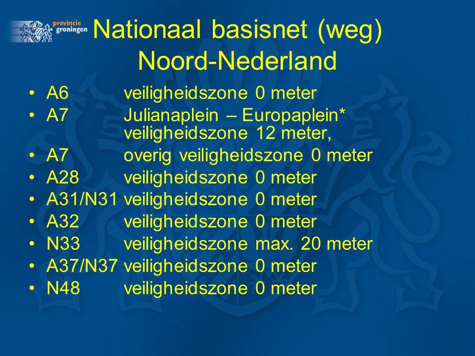Nationaal basisnet (weg) Noord-Nederland