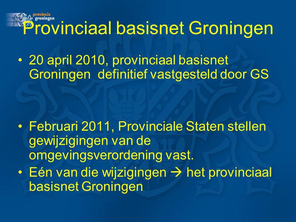 Provinciaal basisnet Groningen
