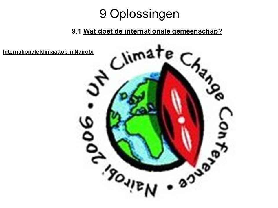 9 Oplossingen 9.1 Wat doet de internationale gemeenschap