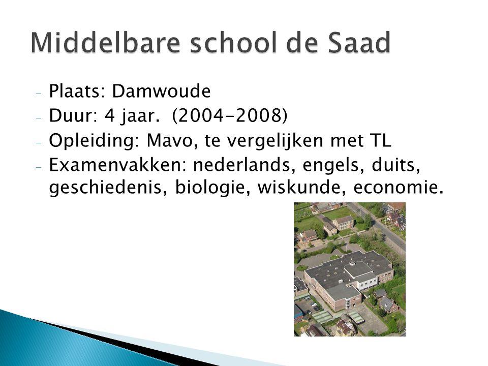 Middelbare school de Saad