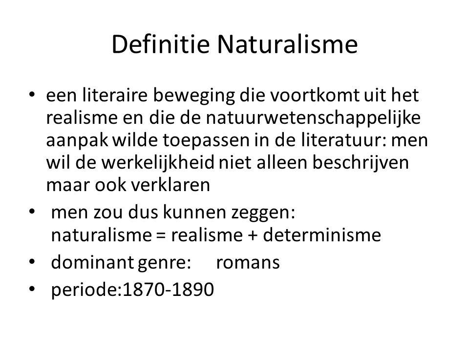 Definitie Naturalisme