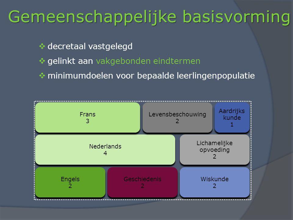 Gemeenschappelijke basisvorming