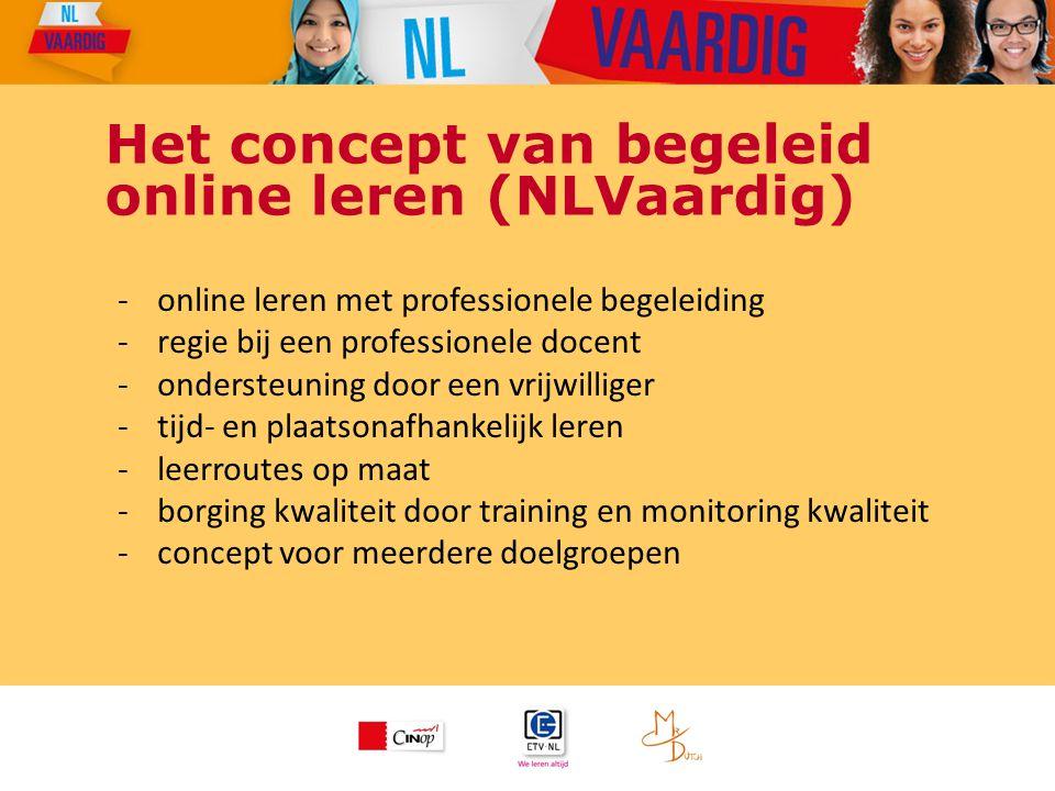 Het concept van begeleid online leren (NLVaardig)