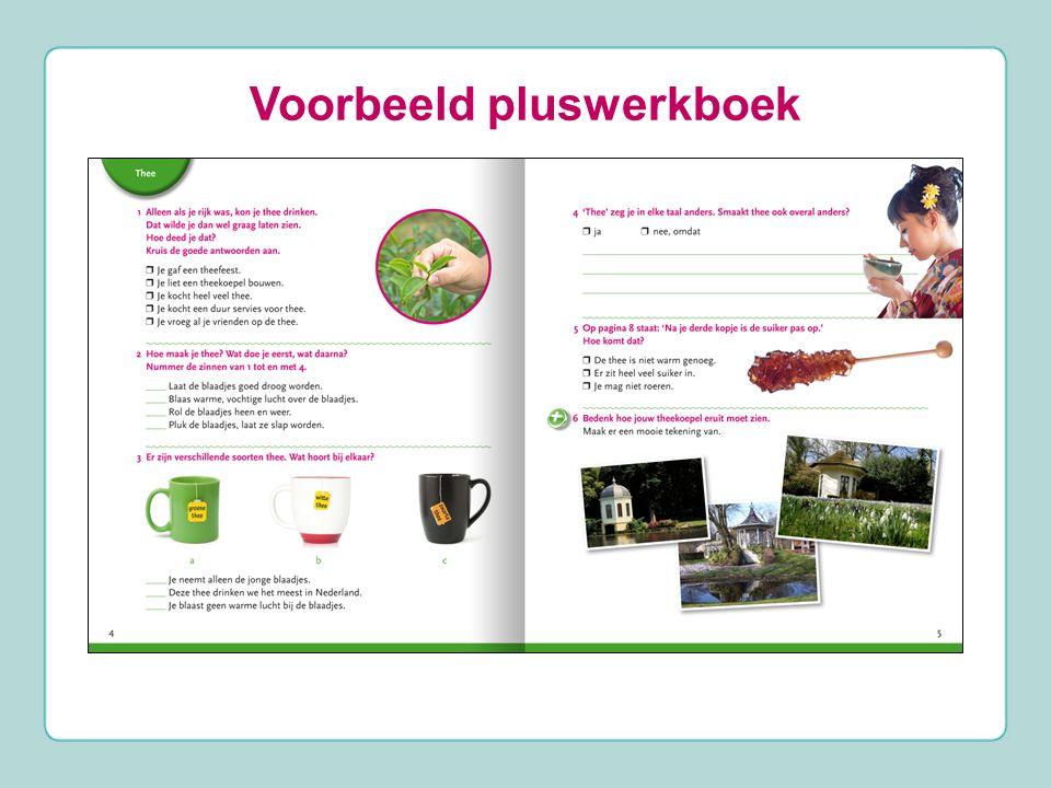 Voorbeeld pluswerkboek