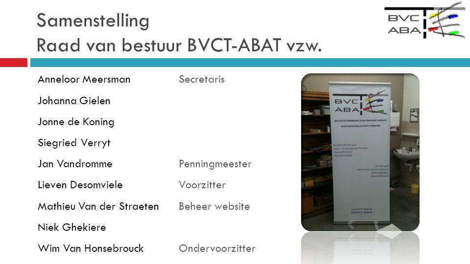 Samenstelling Raad van bestuur BVCT-ABAT vzw.