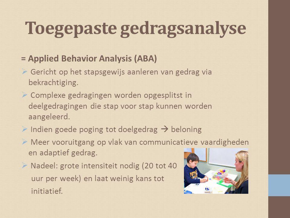 Toegepaste gedragsanalyse