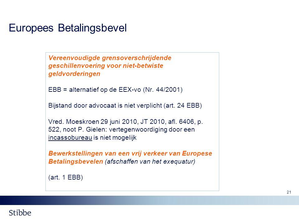 Europees Betalingsbevel