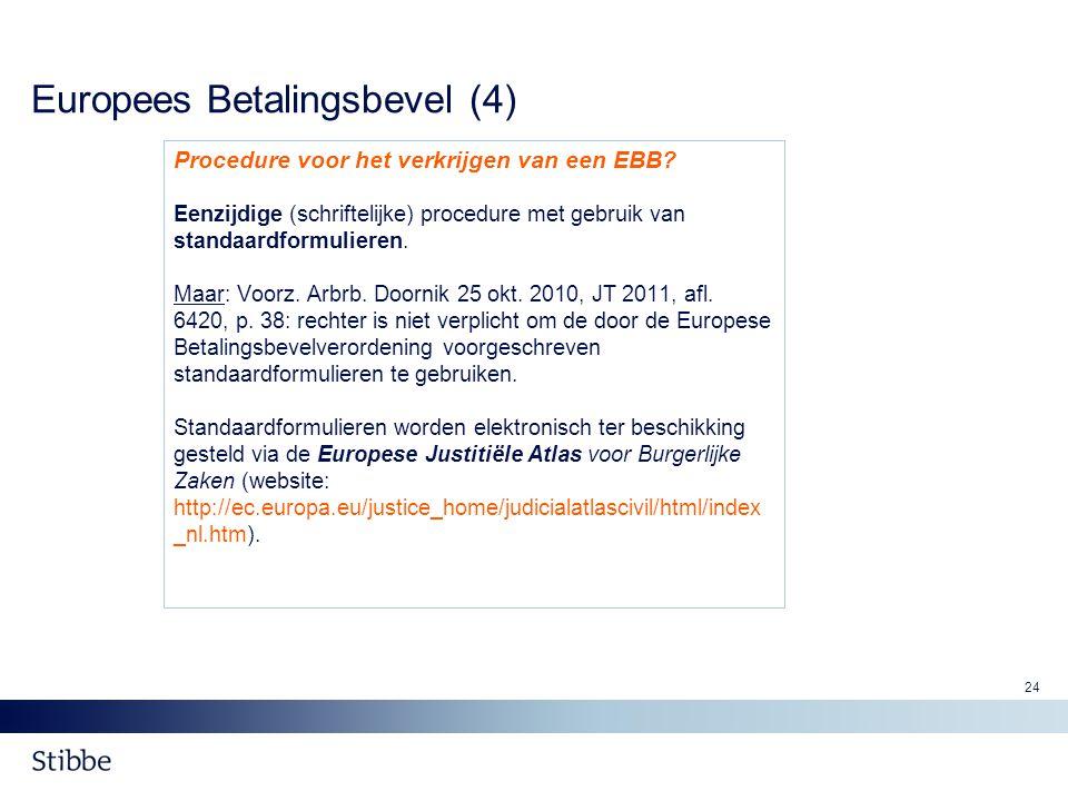 Europees Betalingsbevel (4)