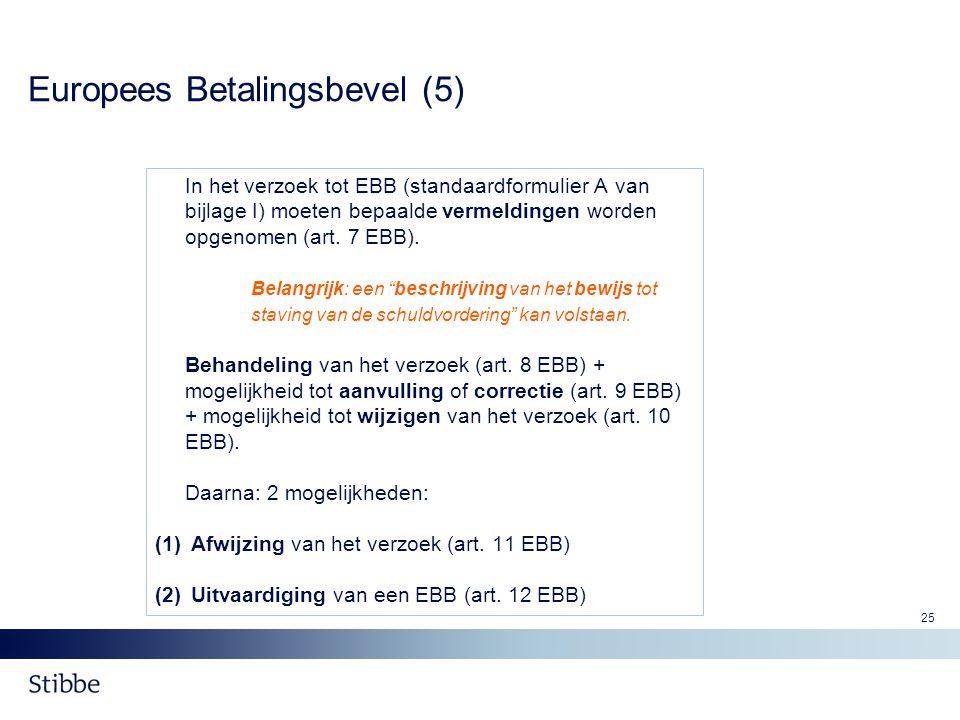 Europees Betalingsbevel (5)